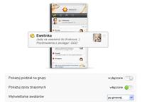 Ustawienia - lista kontaktów